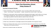 Our individual photo day will be Friday, October 6th. Information on easy steps for awesome pictures is linked. This was originally scheduled for October 3rd but we changed photography companies. The […]