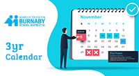 The Burnaby School District is welcoming feedback and comments until January 8, 2020 about the proposed three-year calendar for the school years from 2020-21 through 2022-23. The calendar sets out […]